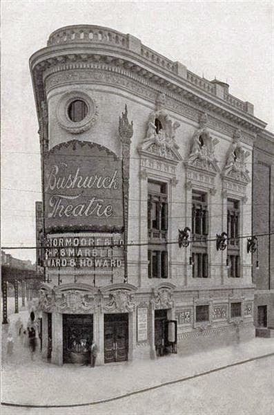 Historic 1911 Photo of Bushwick Theatre