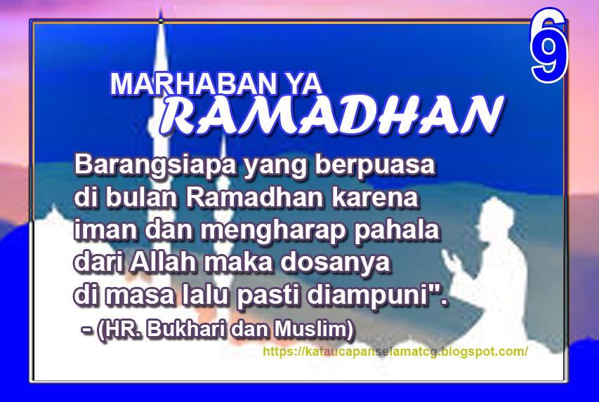 Ucapan Selamat Berpuasa Dalam Kata Kata Puasa Ramadhan