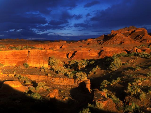 صحراء جوبي واحدة من أهم المعالم الجغرافية في منغوليا وهي تمثل ثاني أكبر صحراء على مستوى العالم .