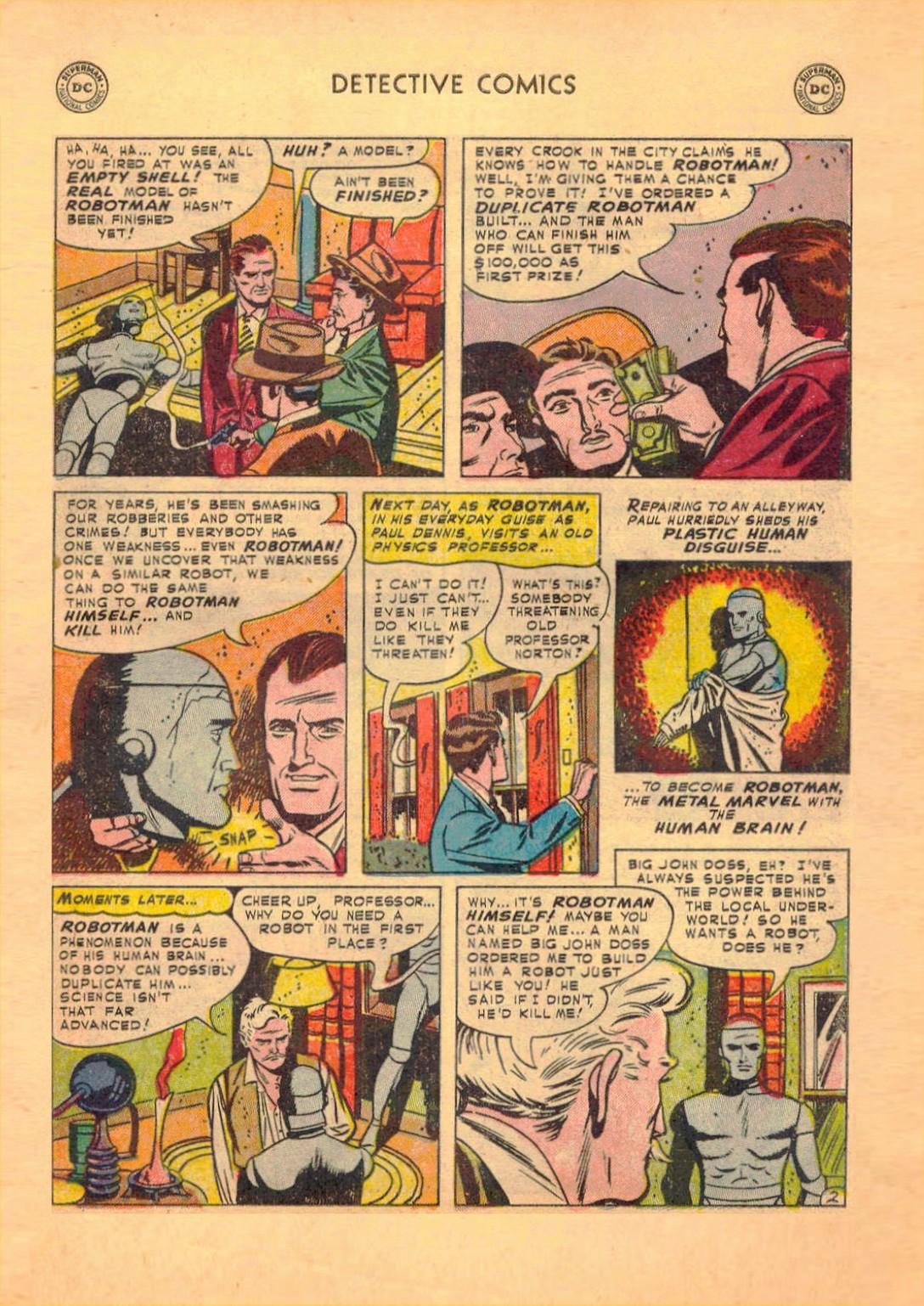 Read online Detective Comics (1937) comic -  Issue #182 - 24
