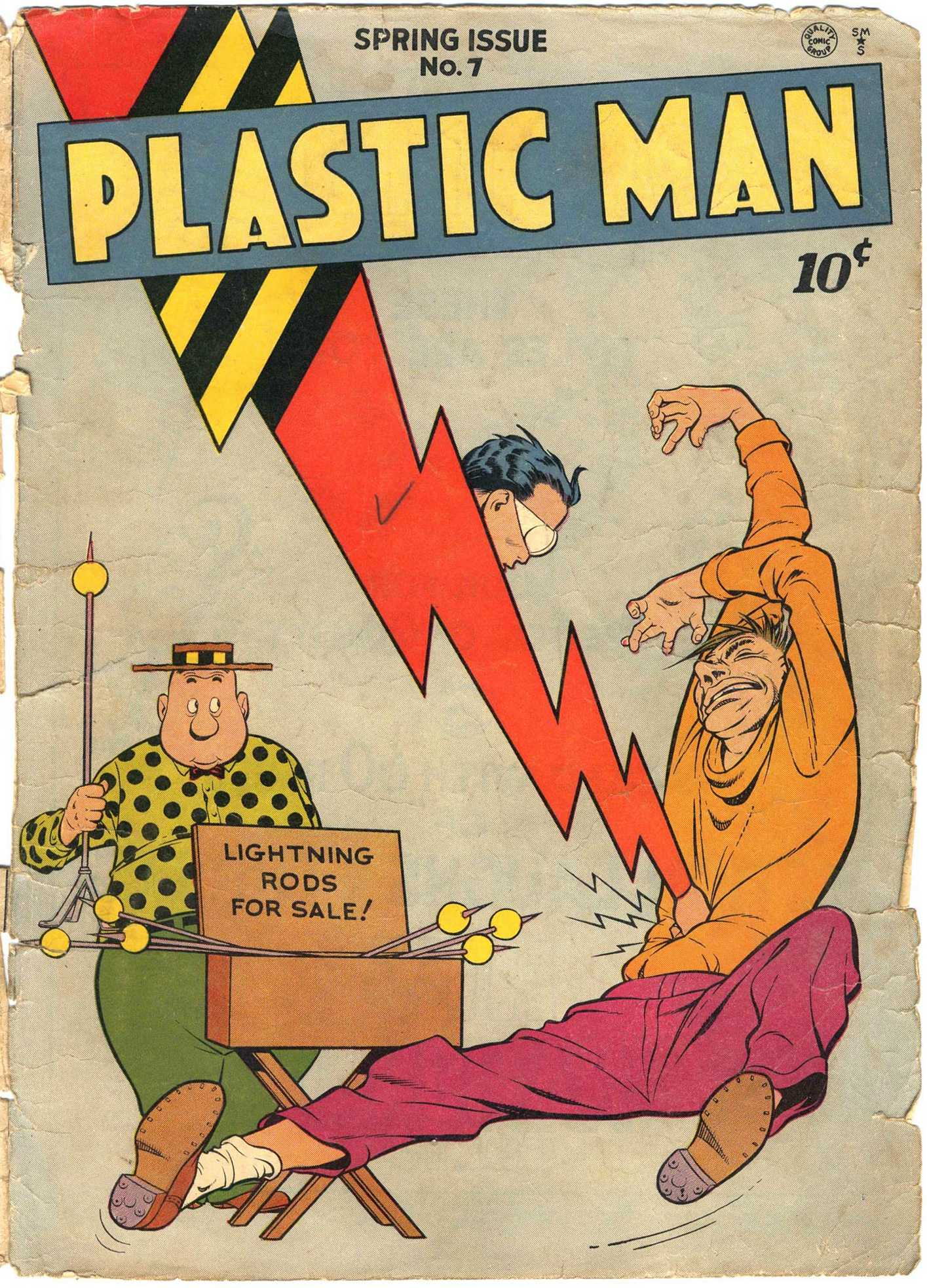 Plastic Man (1943) 7 Page 1
