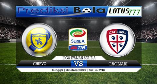 Prediksi Chievo vs Cagliari Tanggal 30 Maret 2019