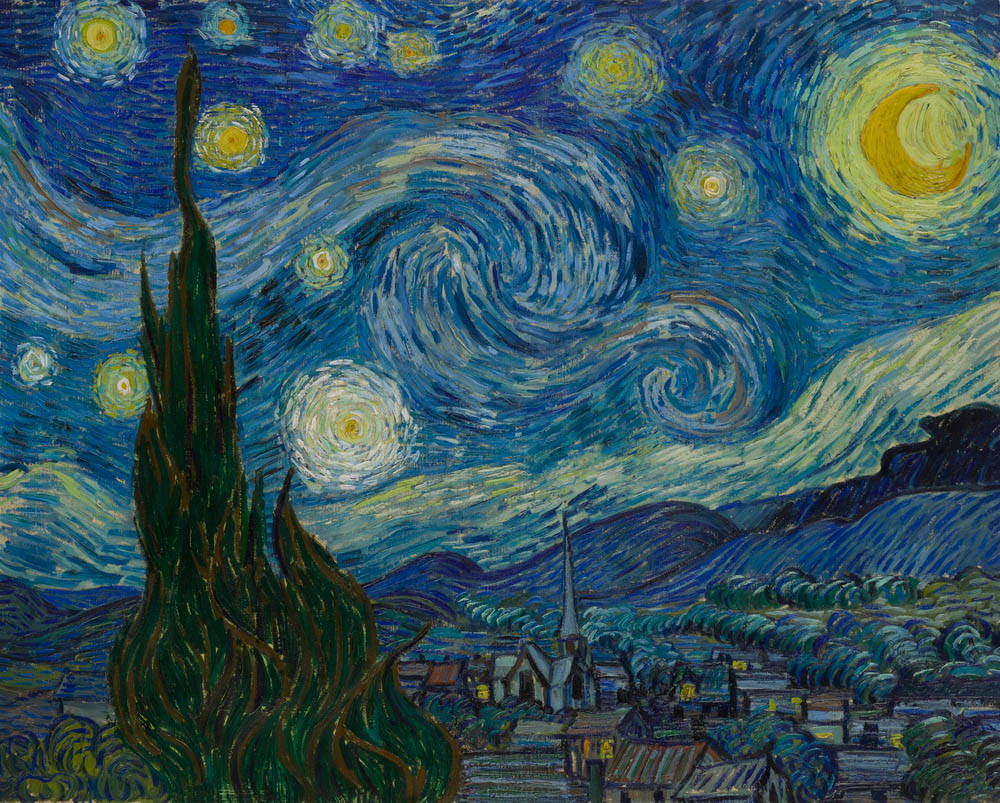 Watercolor artists directory wiki - Millet Was Van Gogh S Favorite Artist Van Gogh Did Not Copy Millet S Starry Night He Gazed At The Night Sky And Painted His Own Picture Based On His Own