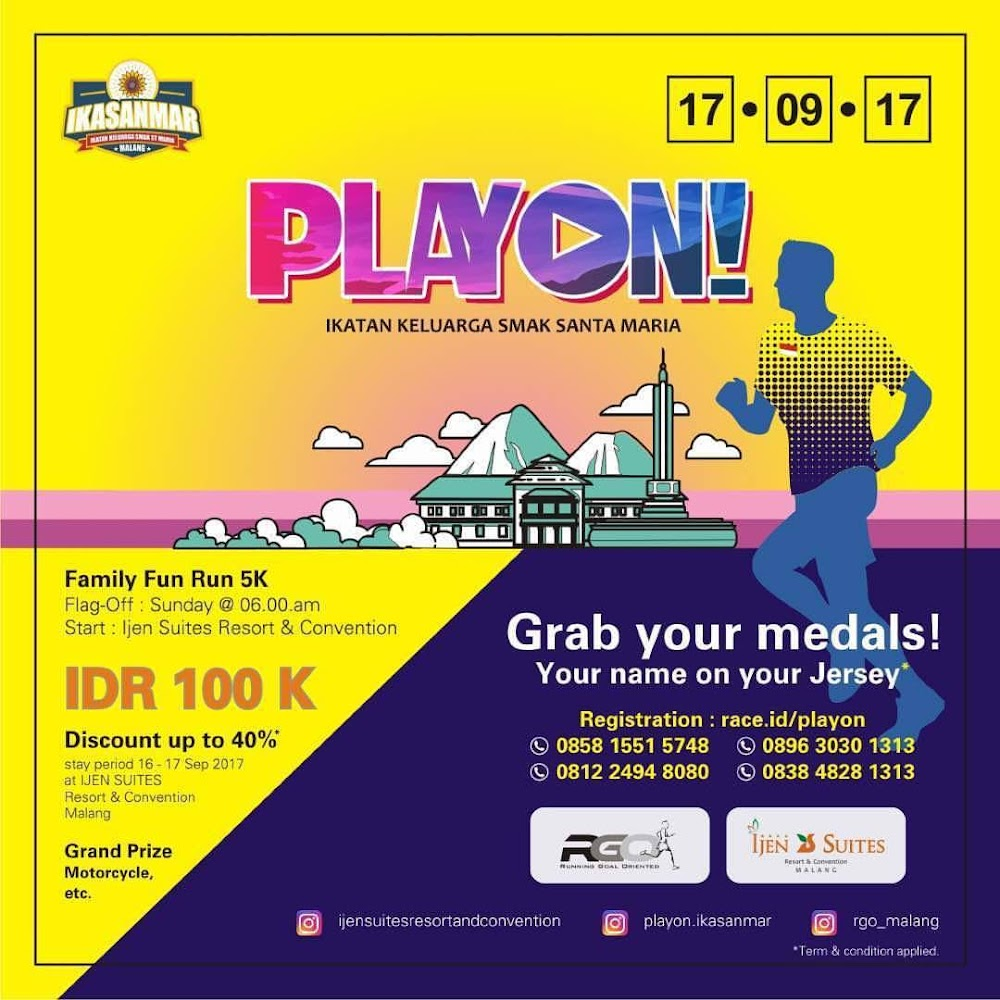 PlayOn Fun Run • 2017