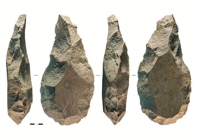 Giant handaxes suggest that different groups of early humans coexisted in ancient Europe