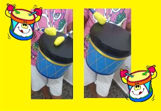 Como hacer un tambor para niños