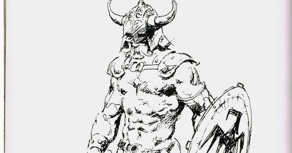Cap'n's Comics: A Frank Frazetta Sketch