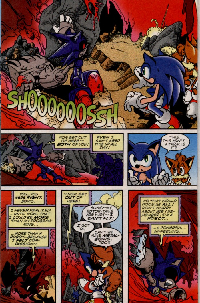 Read online Sonic The Hedgehog comic -  Issue #87 - 15