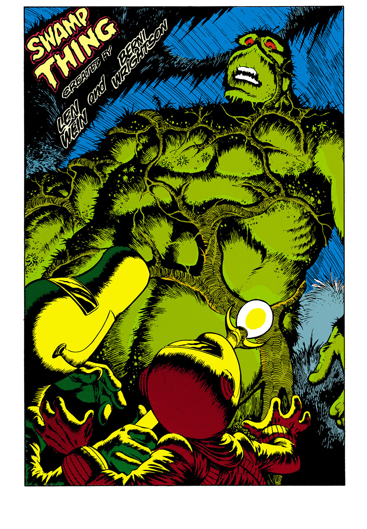 Swamp Thing (1982) Issue #32 #40 - English 8
