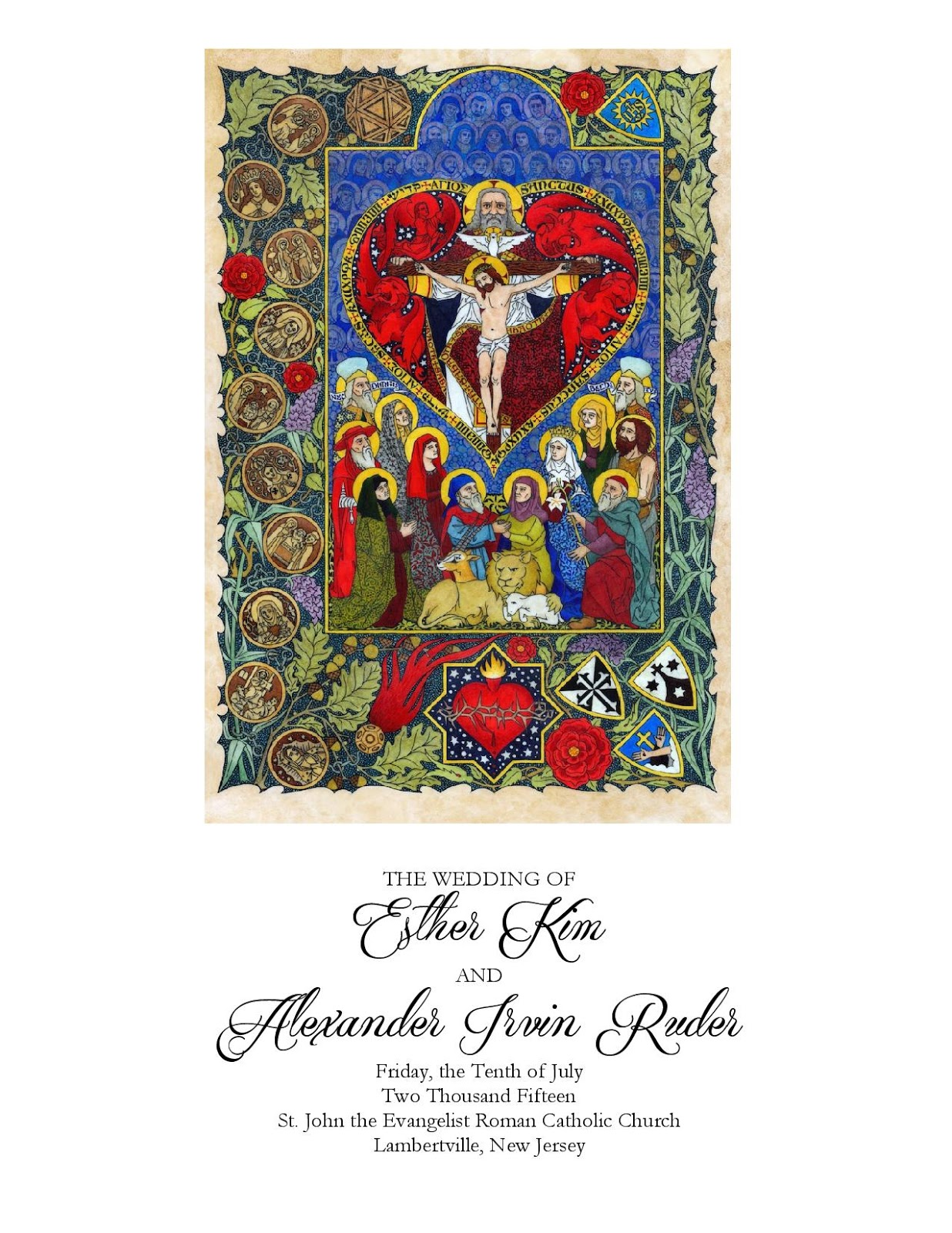 New Liturgical Movement: Solemn Music for a Wedding
