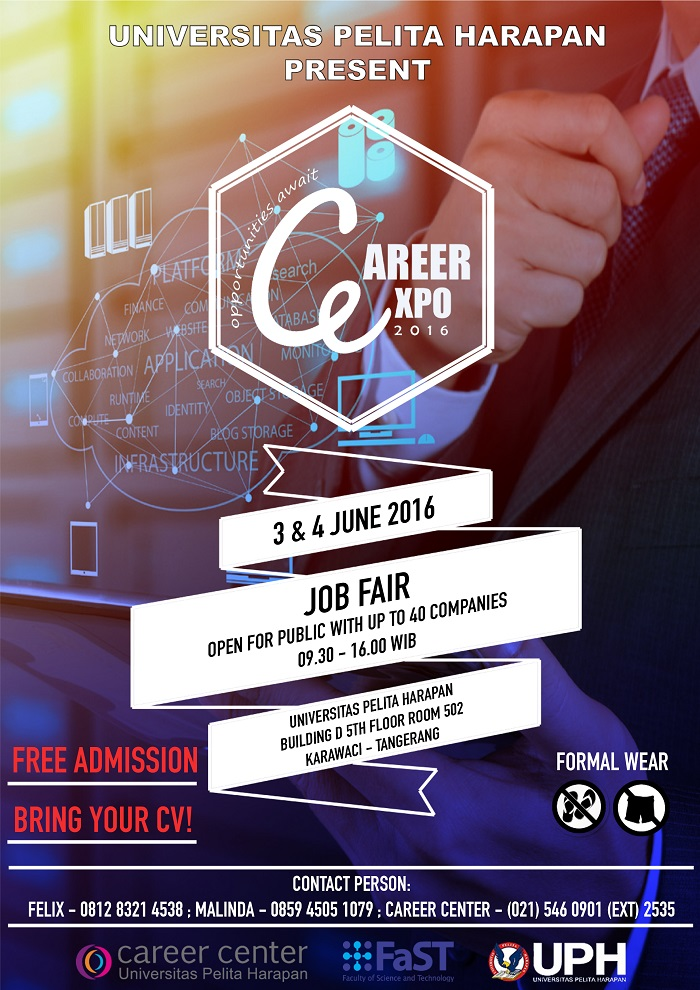 Jobfair Karawaci Career Expo UPH Juni 2016
