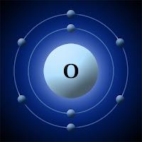 Oksijen atomu ve elektronları