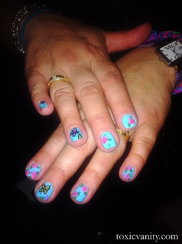 Zulu Night Party Nail Art En Vivo Toxic Vanity