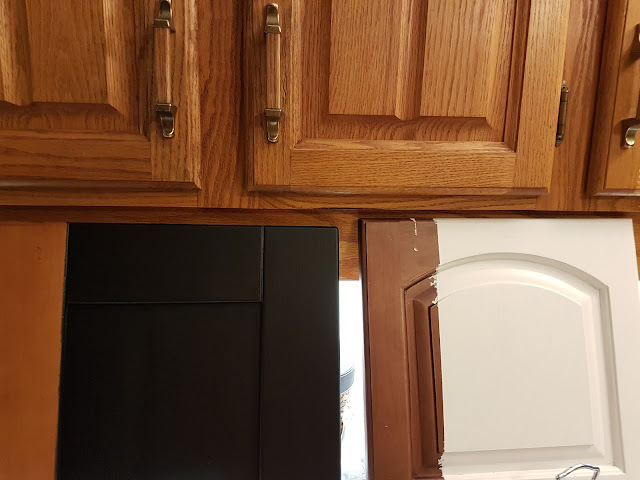 paint oak cabinets with Cottage Paint