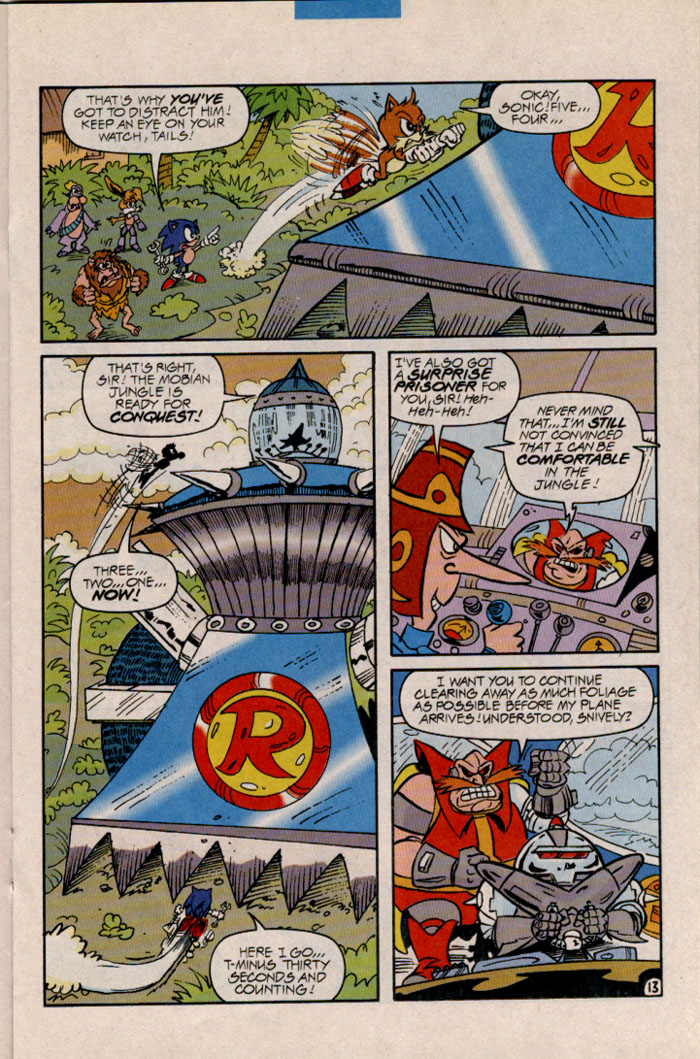 Read online Sonic The Hedgehog comic -  Issue #45 - 14