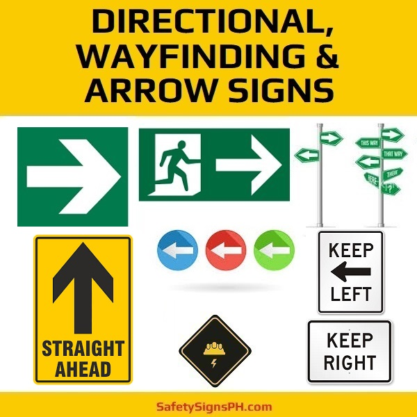 Directional, Wayfinding & Arrow Signs Philippines
