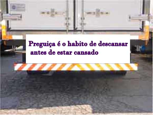 Traseira de caminhão