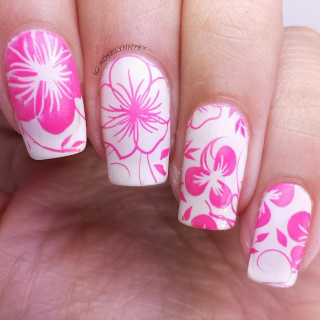 flower stamping