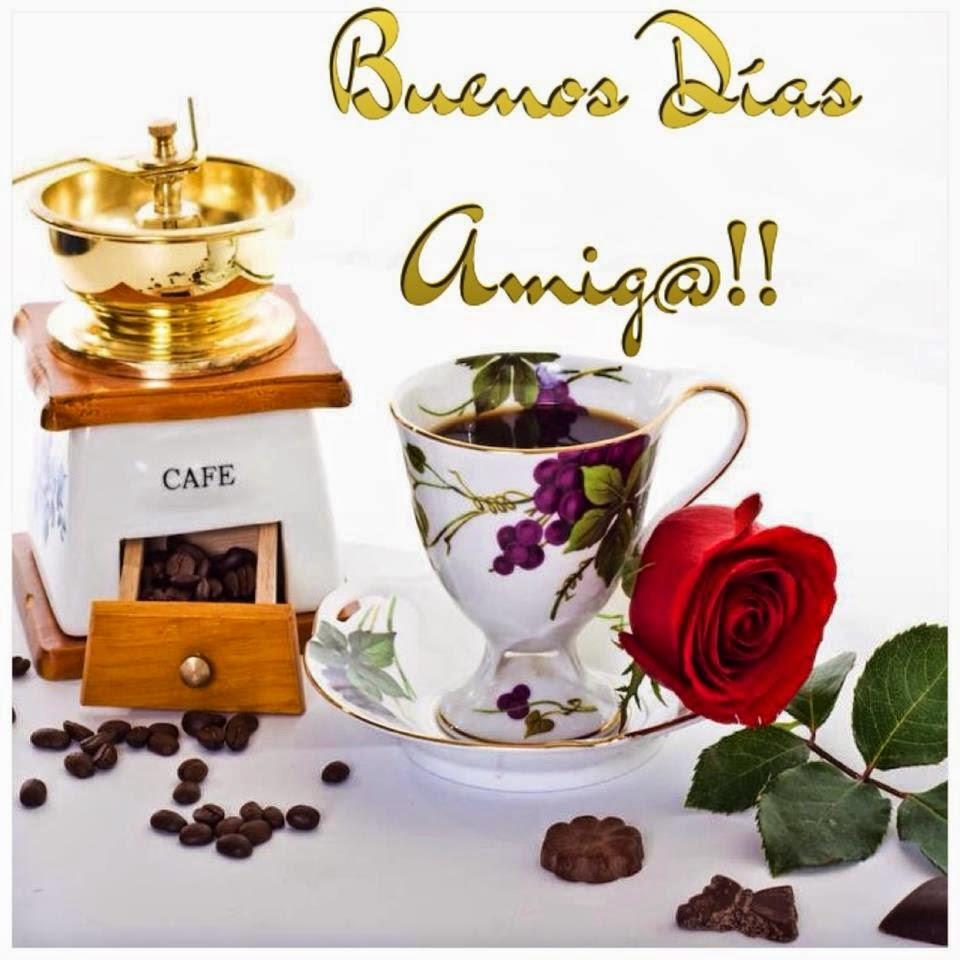 Открытки, картинки с добрым утром на испанском