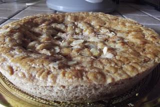 crostata con marmellata di uva bianca