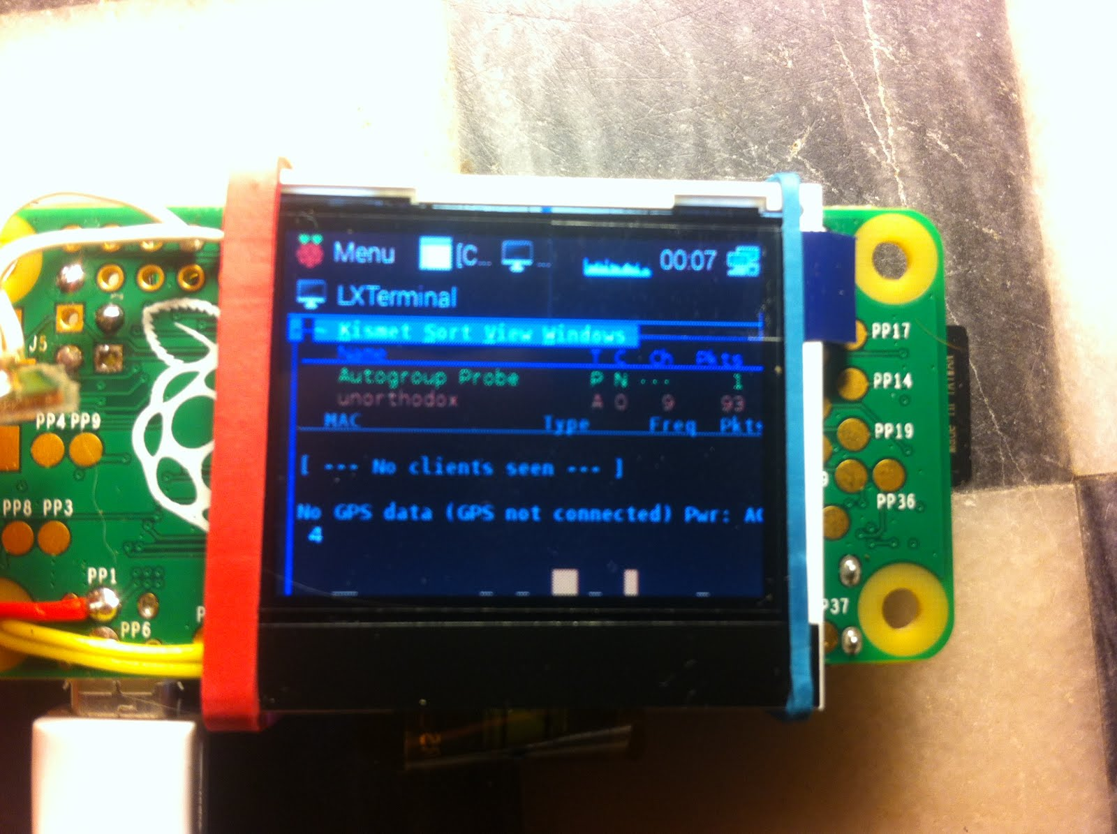 Raspberry Pi Gps Display