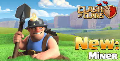 miner, coc, clash of clans