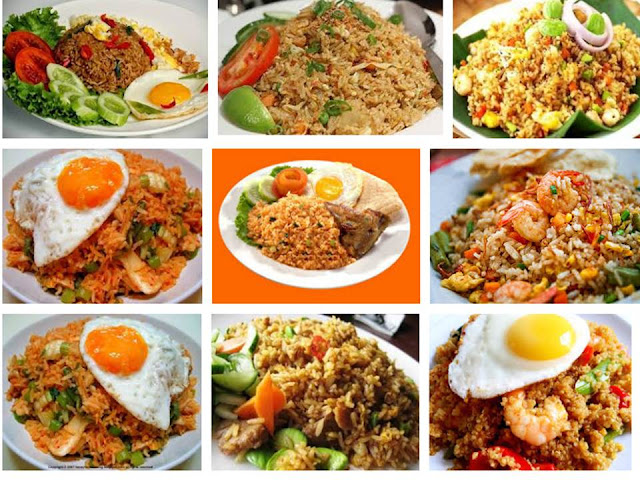 Home Made Special Fried rice in Indonesia