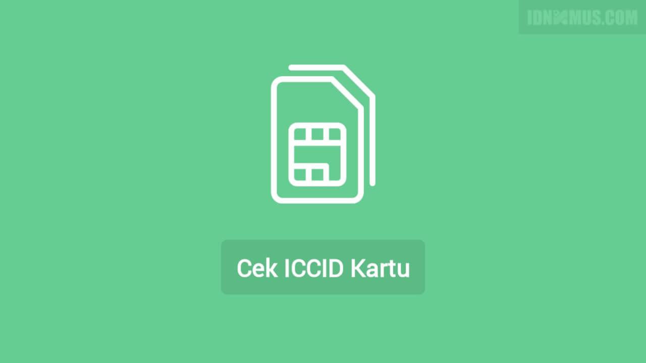 Cek ICCID