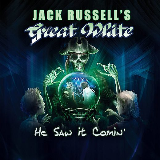Jack Russell's GREAT WHITE - He Saw It Comin' (2017) full