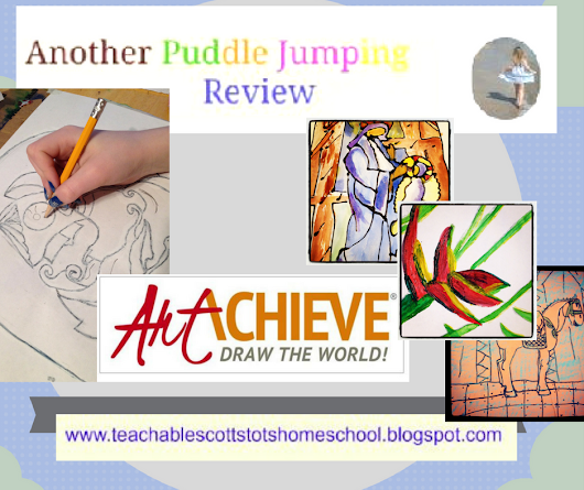 Homeschool Review Crew - ArtAchieve Entire Level 4