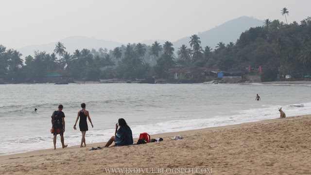 Patnem ja Colomb Beach, Goa, India