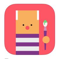 Little Big artist app para crear arte dirigida a niños RTVE