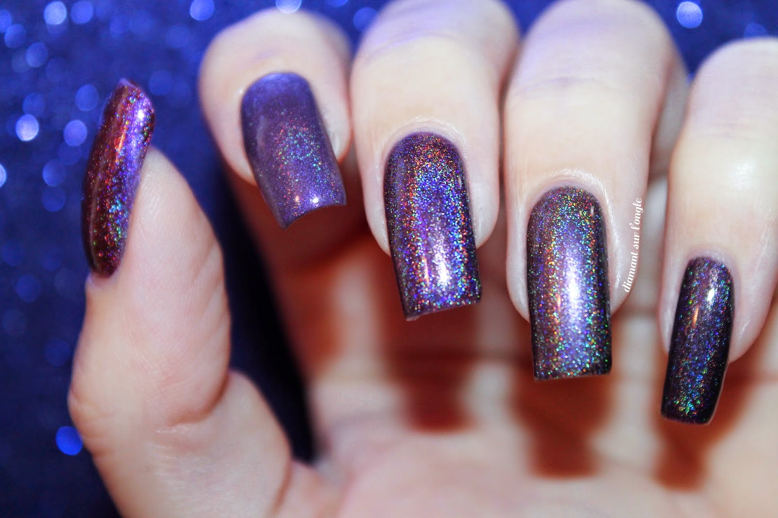 Purples Enchanted Polish Comparative