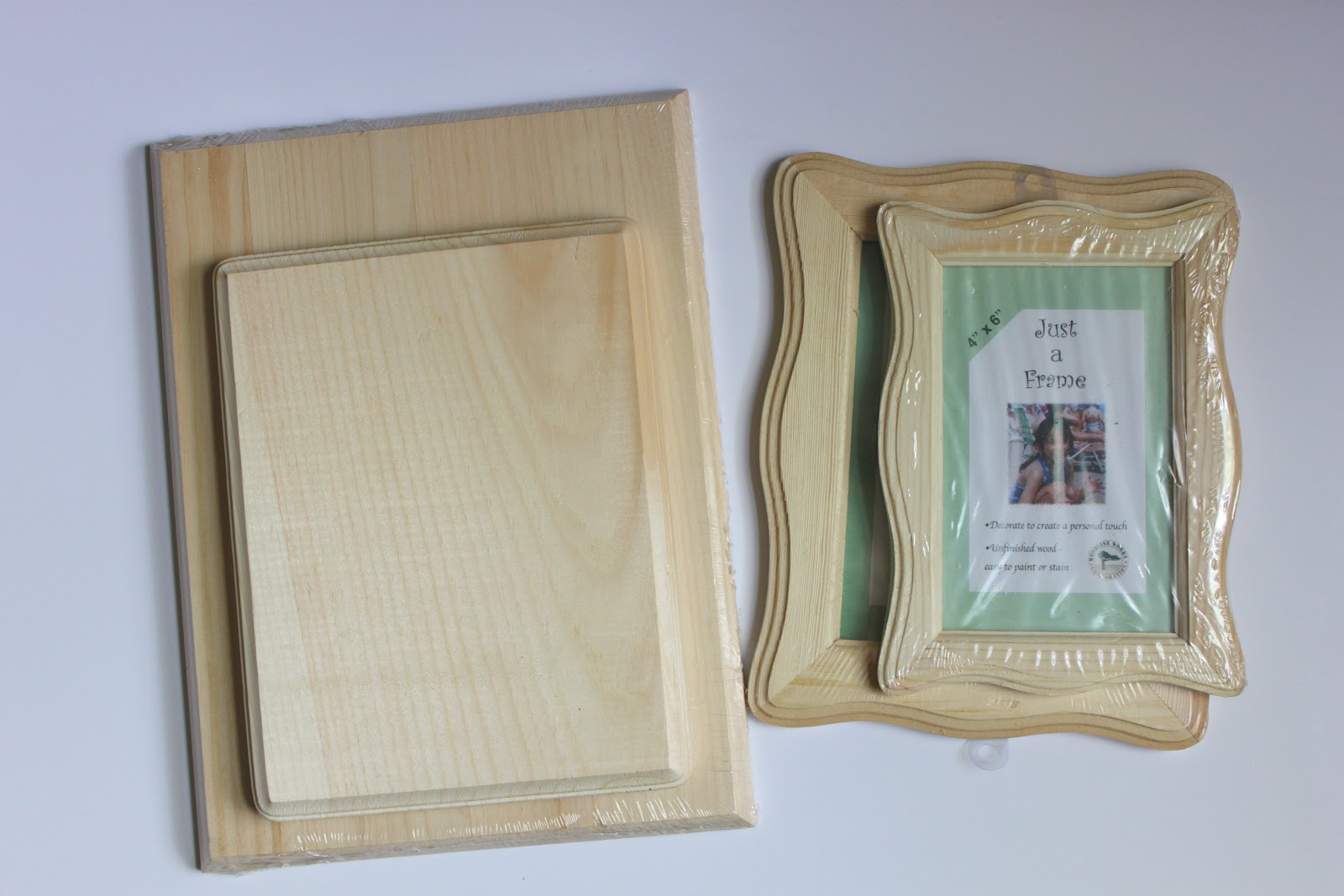 Easy Layered Wooden Frames Tutorial Smashed Peas Carrots
