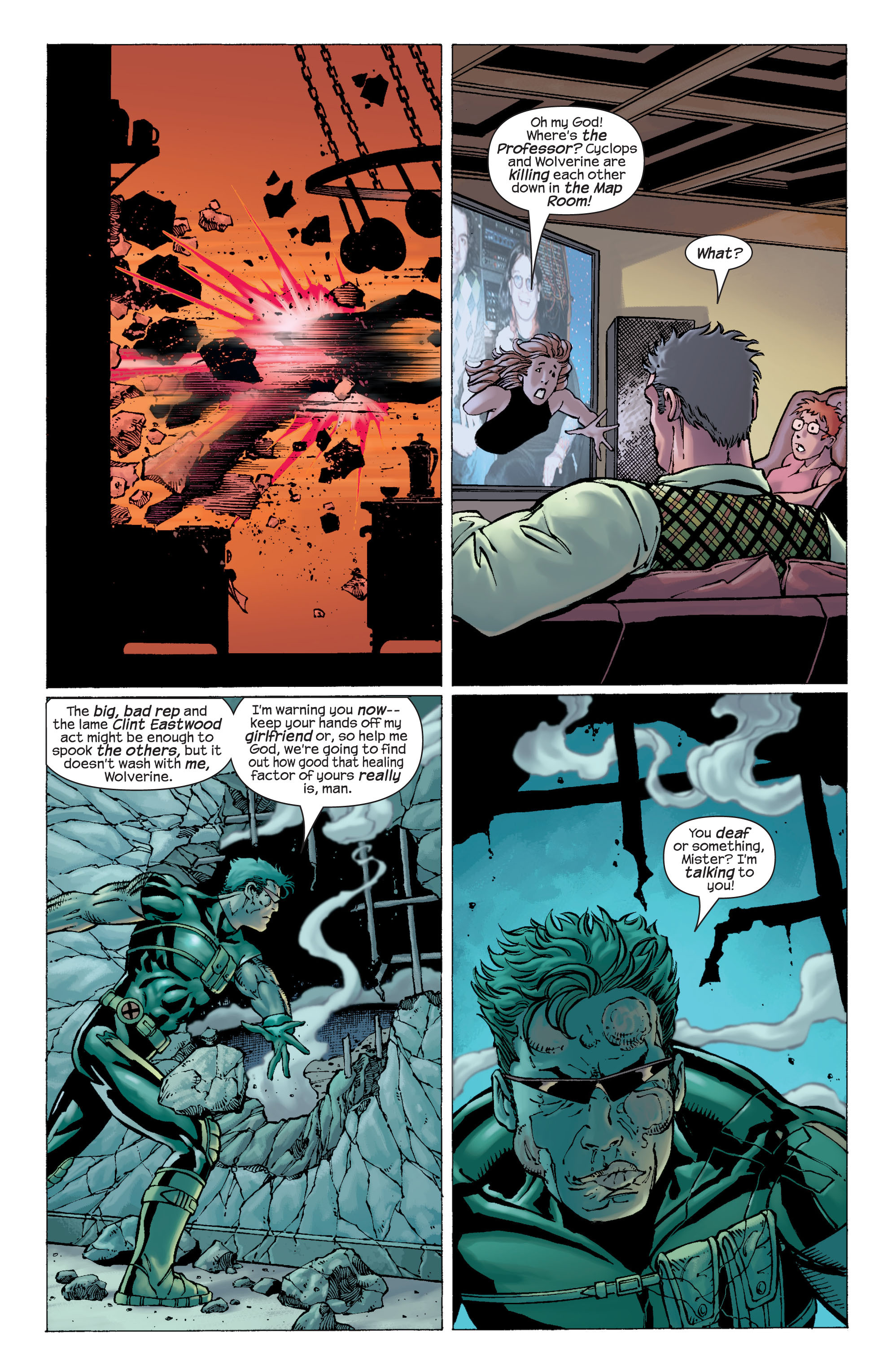 Read online Ultimate X-Men comic -  Issue #22 - 18