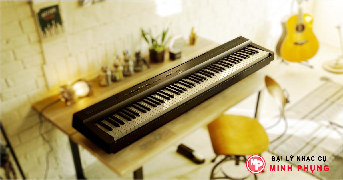 Đàn Piano Điện Yamaha P125 WH