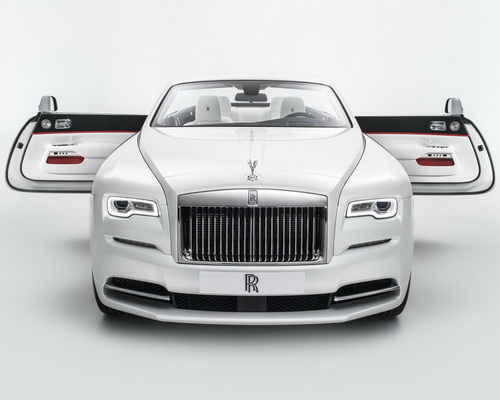 www.Tinuku.com House of Rolls-Royce announced design collection Spring-Summer 2017 fashion inspired