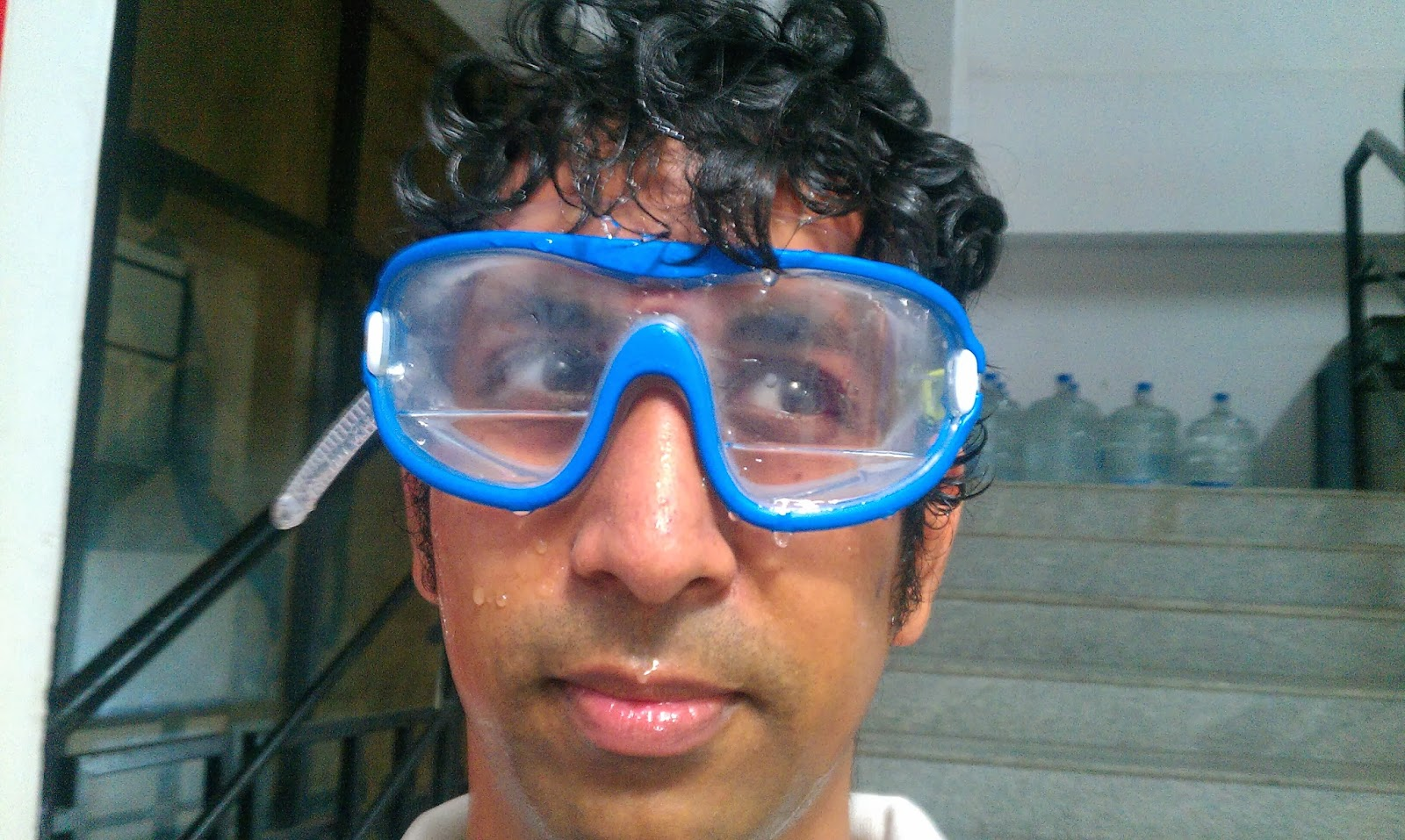 arif s thought decathlon nabaiji swimming goggle and swimming cap