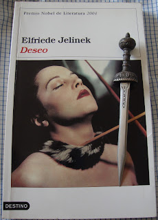 Portada del libro Deseo, de Elfriede Jelinek