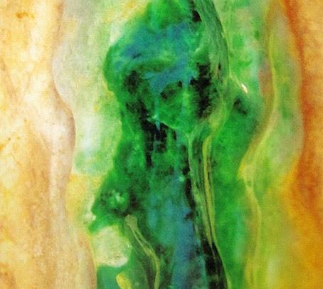 rough imperial jade boulder