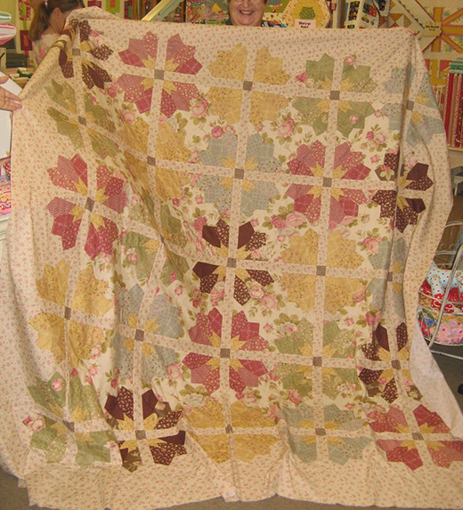 Garden Party Quilt Free Pattern