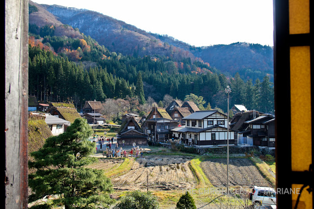 shirakawago house view