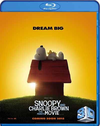The Peanuts Movie [BD50] [3D] [2015] [Latino]