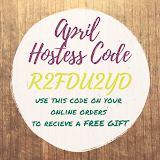 April Hostess Code