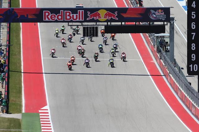Start Balapan MotoGP Austin 2017