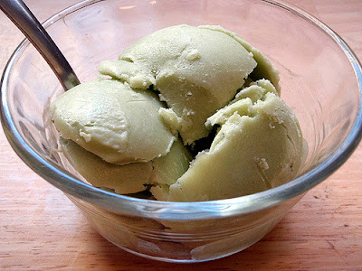 avocado ice cream recipe, homemade ice cream