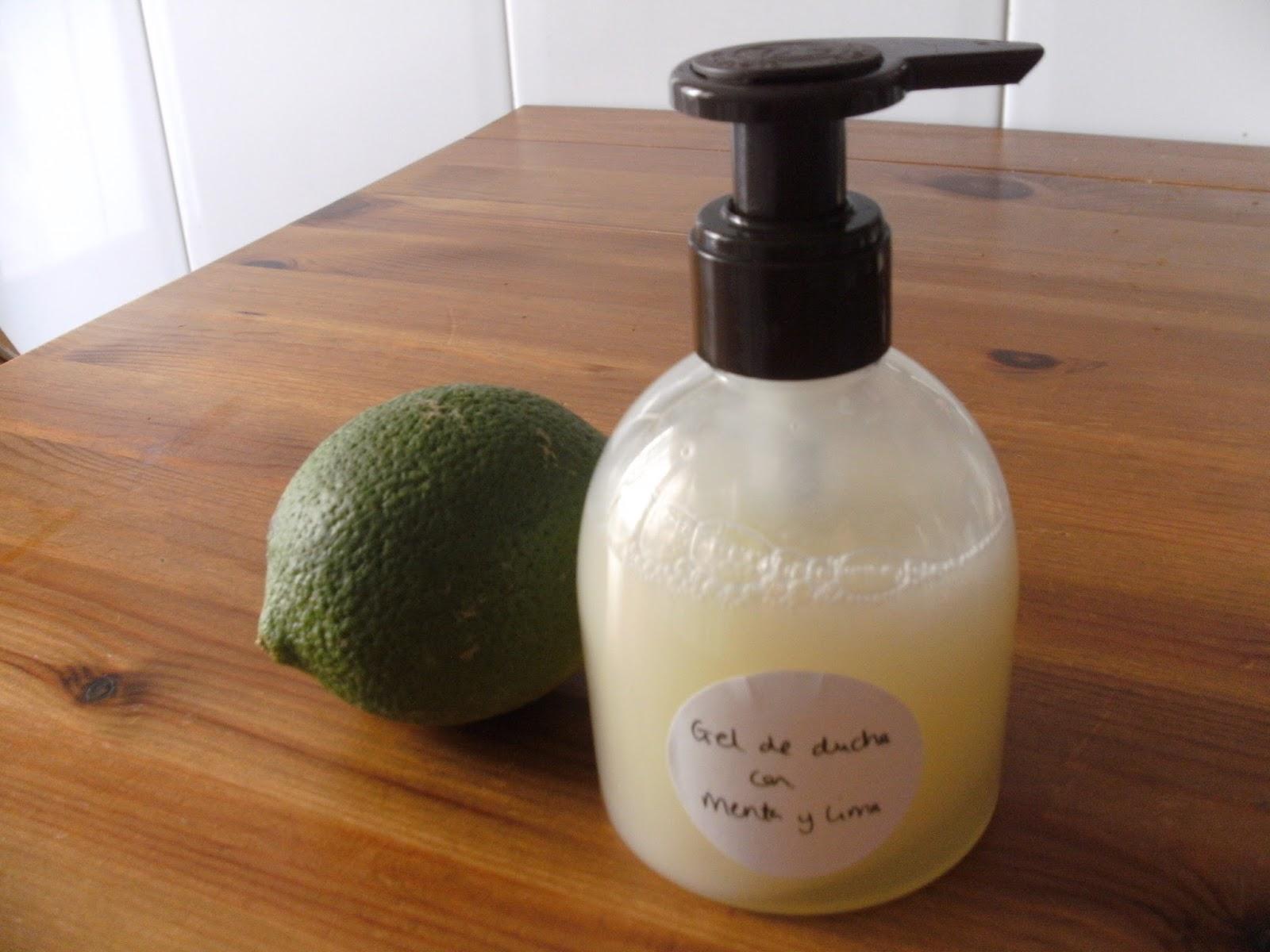 Receta gel de ducha refrescante Blog