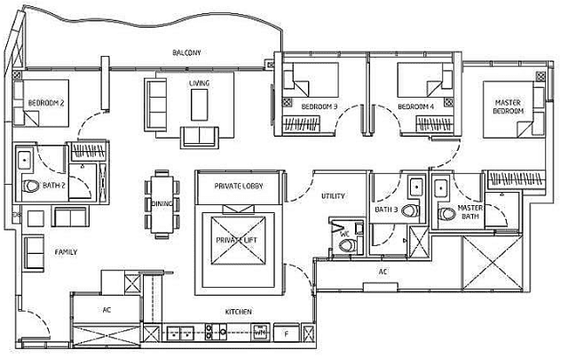Queens Peak Floorplan7