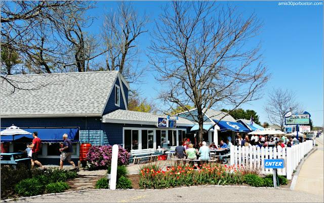 Lobster Shacks en la Costa Sur de Maine: Bob's Clam Hut