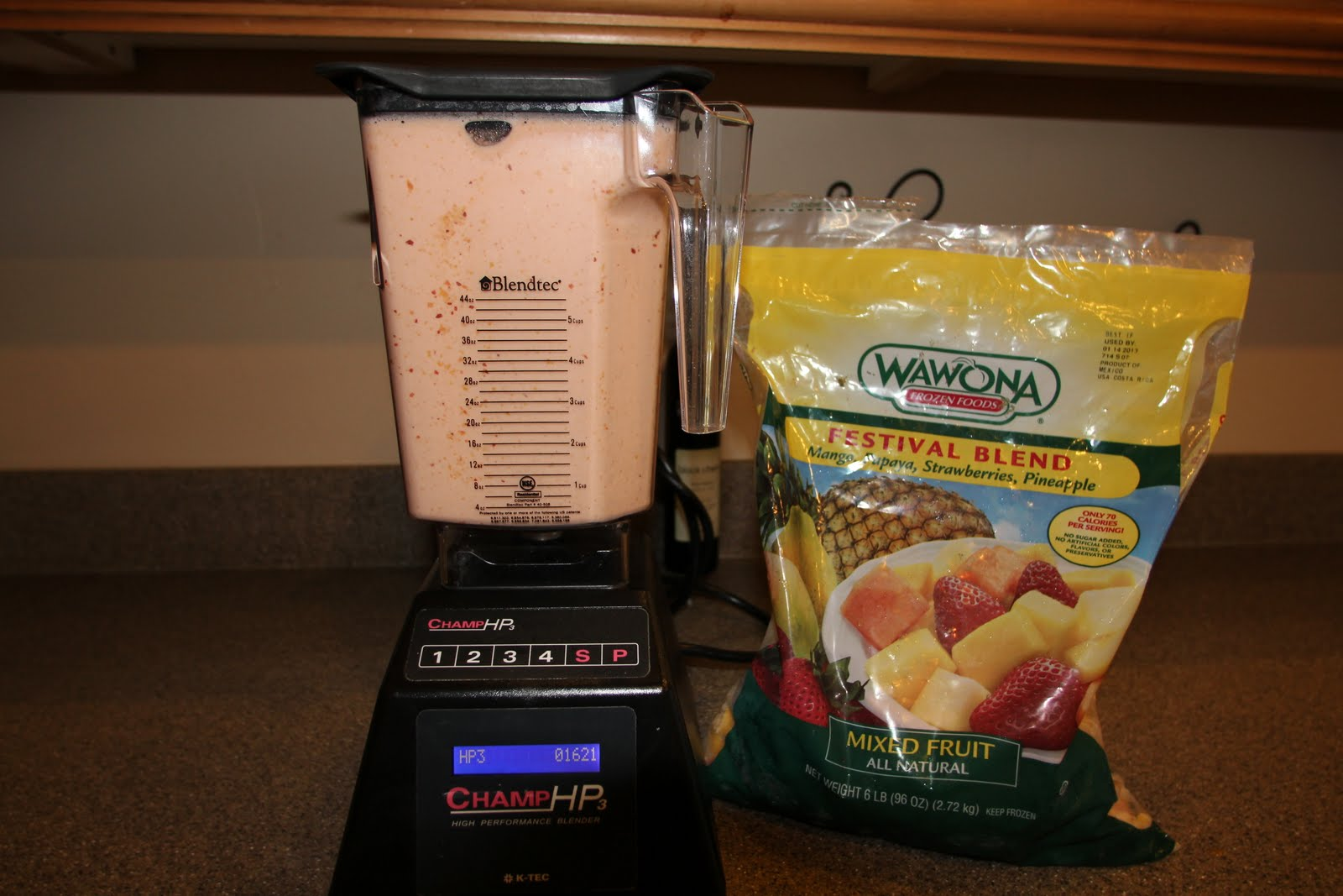 Fruit Smoothie Costco Cost Food Court